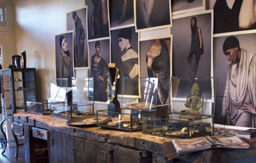 Display Cases for Donna Karan