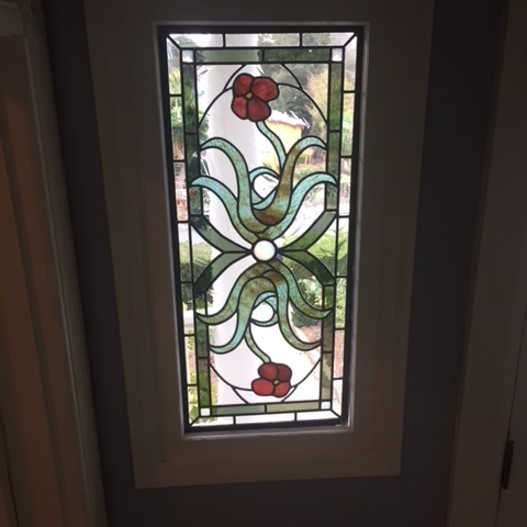 Leaded stained glass for San Francisco
