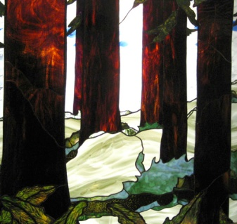 Redwoods Stained Glass