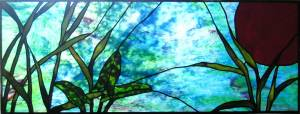 Chesapeake Bay Water Stained Glass