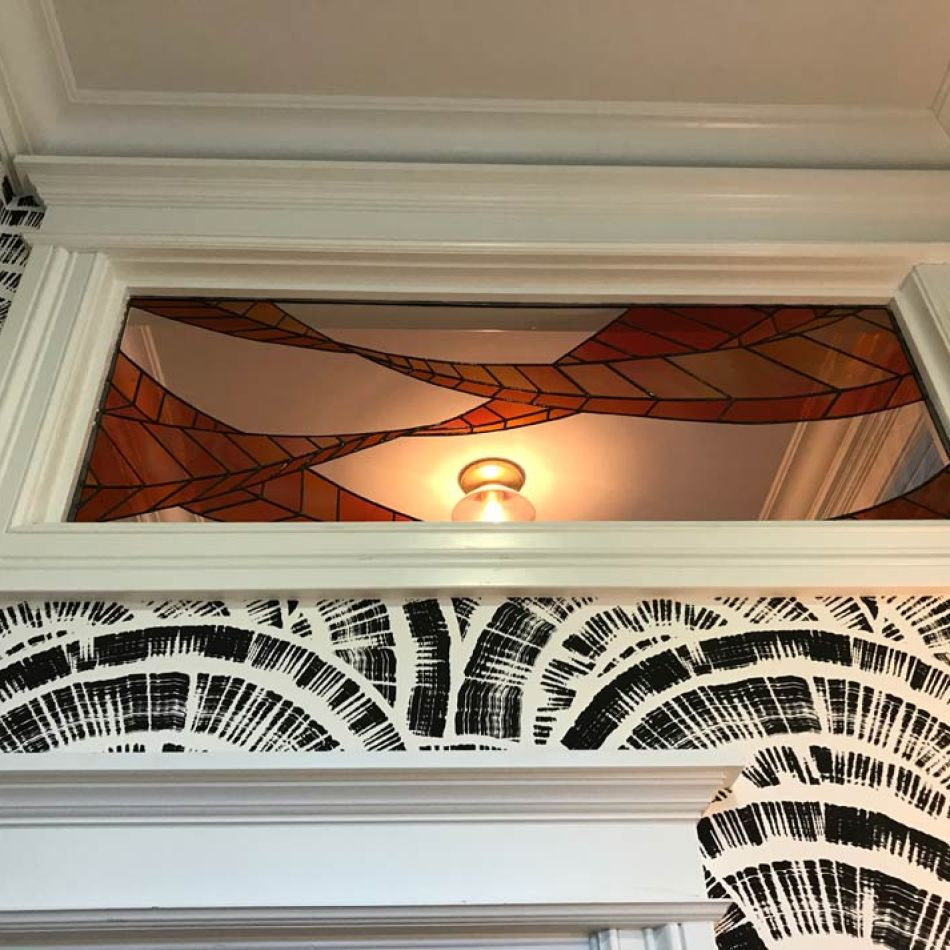 Bay Area stained glass custom design