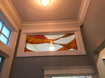 Interior Design using stained glass San Francisco
