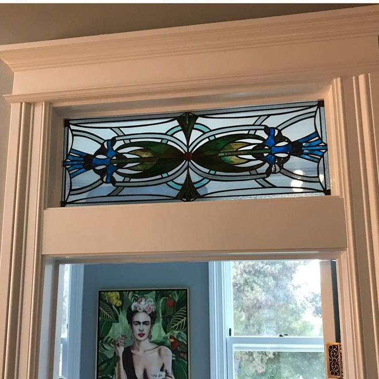 victorian stained glass Bay Area